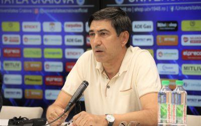 Victor Pițurcă, prezentat de Craiova. Obiectivele antrenorului