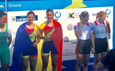 Nouă medalii de de aur, una de argint și două de bronz pentru România la Campionatele Europene de Canotaj Tineret- U23