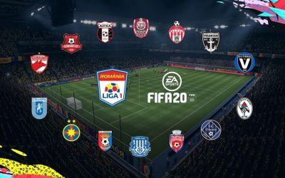Jocul FIFA 20, cu Liga I inclusă în premieră, a fost lansat