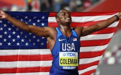 Christian Coleman este noul campion mondial la 100 de metri