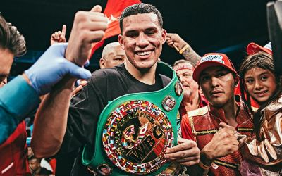 David Benavidez a recucerit titlul de campion mondial