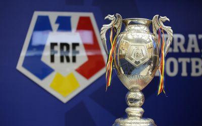 S-au stabilit optimile de finală ale Cupei României