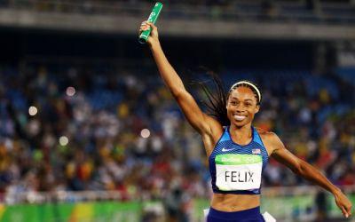Allyson Felix a bătut recordul de medalii al lui Usain Bolt la Mondiale