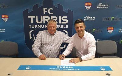Florin Bratu este noul antrenor al liderului din Liga 2, Turris