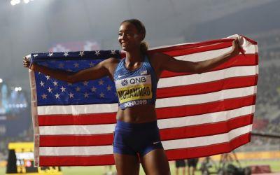 Record mondial pentru Dalilah Muhammad la 400 de metri garduri