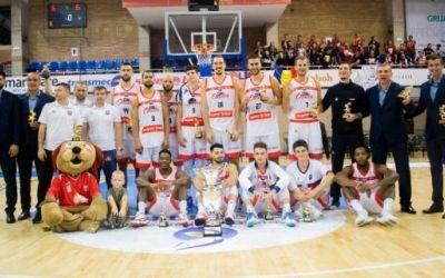 CSM Oradea a câştigat Supercupa României la baschet masculin