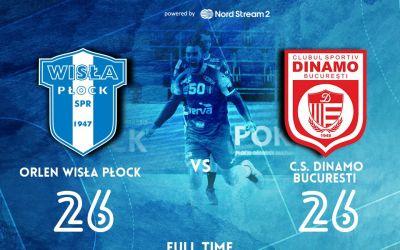 Dinamo rămâne neînvinsă în Liga Campionilor la handbal masculin