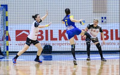 Duel românesc în Cupa EHF la handbal feminin