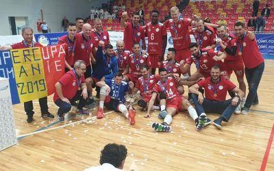 Arcada Galaţi a câştigat Supercupa României la volei masculin