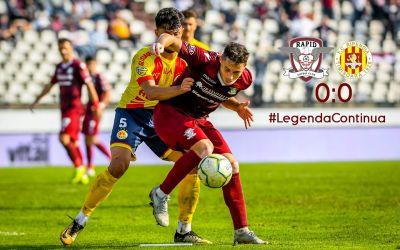 Liga 2: Rapid se încurcă de Ripensia, liderul Mioveni pierde, Farul câștigă