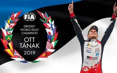 Ott Tanak a devenit campion mondial în WRC