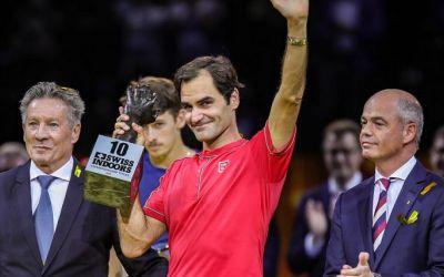 Federer de 10. Elvețianul a triumfat la Basel. Thiem, campion la Viena