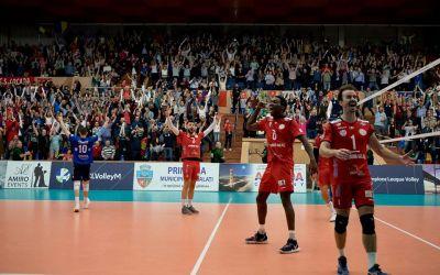 Arcada Galaţi a câștigat clar cu Vojvodina Novi Sad în Liga Campionilor