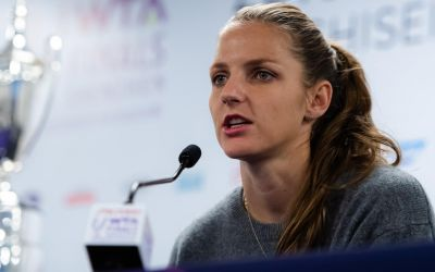 Karolina Pliskova s-a despărțit de antrenoarea sa