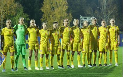 Naționala feminină de fotbal a României a învins Lituania
