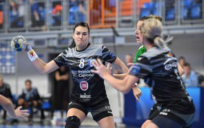 CSM București, învinsă categoric de Esbjerg, în Liga Campionilor la handbal feminin