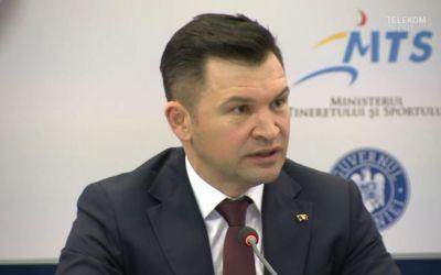 Noul ministru al sportului, Ionuț Stroe, și-a prezentat obiectivele