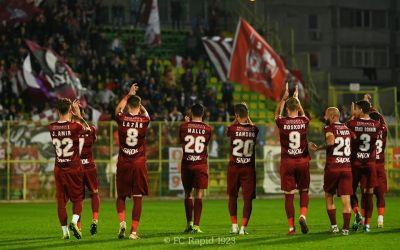 Liga 2: Rapid bate liderul Mioveni, UTA preia șefia campionatului, Turris rămâne aproape de podium, dar antrenorul Baciu a fost reținut