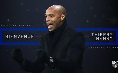 Thierry Henry, numit antrenor la Montreal Impact