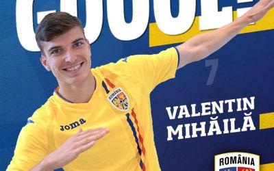 Mihăilă, one man show pentru naționala de tineret a României, 4-1 cu Finlanda