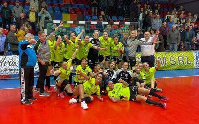 Corona Brașov și Măgura Cisnădie s-au calificat în grupele Cupei EHF