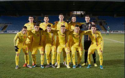 Naționala de tineret a României s-a încurcat în Irlanda de Nord