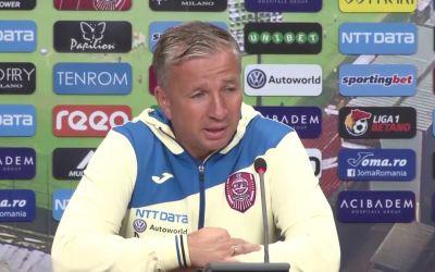Liga 1: Dan Petrescu anunță că nu pleacă de la CFR Cluj