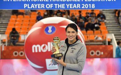 Cristina Neagu, premiată în Japonia pentru titlul de cea mai bună handbalistă a anului trecut. Declarația sportivei