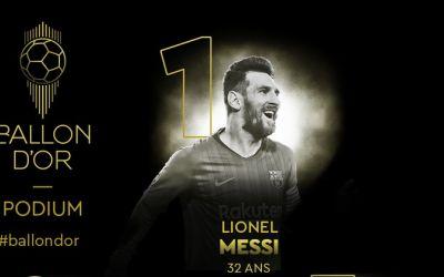 VIDEO / Lionel Messi a câștigat Balonul de Aur