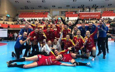 Victorie de thriller ! România a răpus Ungaria la ultima fază și s-a calificat în grupele principale ale Mondialului