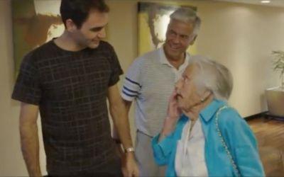 VIDEO / Roger Federer s-a întâlnit cu o fană de 107 ani