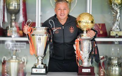 Dan Petrescu și-a prelungit contractul cu CFR Cluj