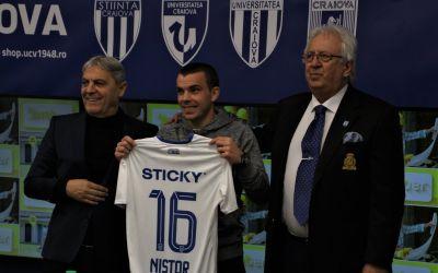 Nistor, căpitanul lui Dinamo, a semnat cu Craiova
