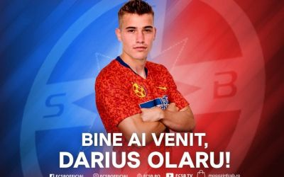 FCSB l-a prezentat pe Darius Olariu. Alți 3 jucători au plecat