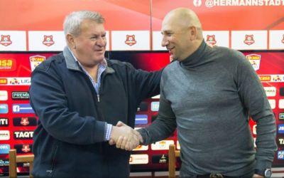 Liga 1: Vasile Miriuță este noul antrenor al lui Hermannstadt