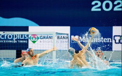 Naționala de polo a României, învinsă la primul meci de la Campionatul Europeaan