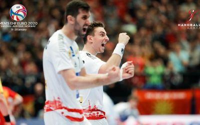 Austria și Slovenia termină cu victorii grupele Europeanului de handbal masculin. Franța și Macedonia, eliminate