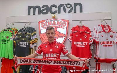 Dinamo  l-a readus pe Valentin Lazăr
