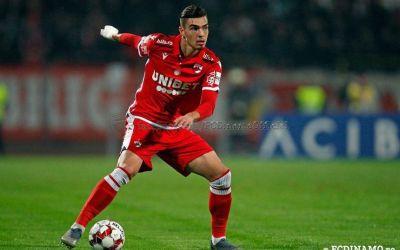 CFR Cluj a oficializat transferul lui Denis Ciobotariu, de la Dinamo. Ardelenii l-au cedat pe Pașcanu