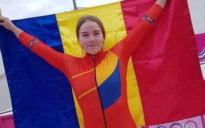 Georgeta Popescu, medaliată cu aur la Jocurile Olimpice de iarnă pentru tineret