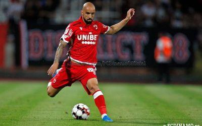 Dinamo l-a vândut și pe fundașul Gabriel De Moura