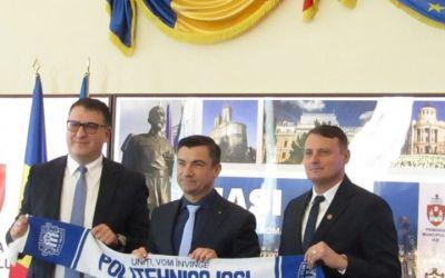 Poli Iași are un nou președinte: Ciprian Paraschiv