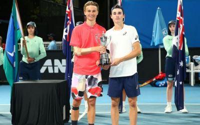 Nicholas David Ionel, campion la juniori la Australian Open, în proba de dublu