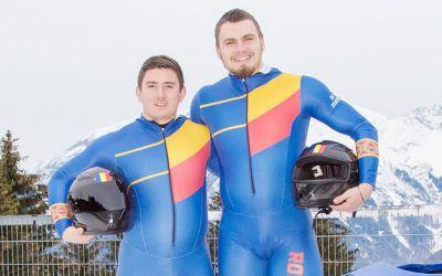 Mihai Tentea şi Ciprian Daroczi, campioni mondiali la bob 2 persoane U23