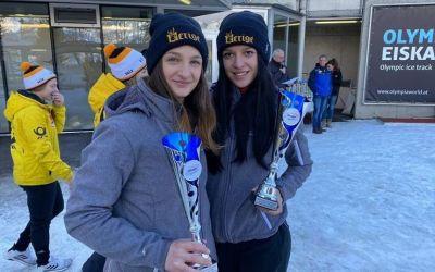 Medalie de argint pentru echipajul feminin de bob, la Campionatul European