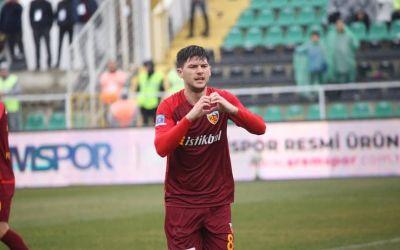 Săpunaru, gol de trei puncte pentru Kayserispor in campionatul Turciei