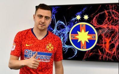 FCSB l-a prezentat pe Andrei Miron