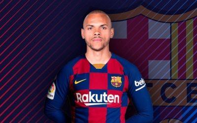 FC Barcelona a oficializat transferul lui Braithwaite