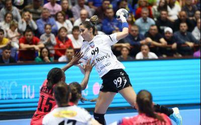 SCM Râmnicu Vâlcea s-a calificat în sferturile Ligii Campionilor la handbal feminin