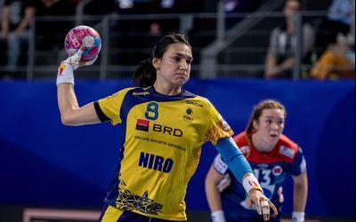 Lotul naţionalei feminine de handbal a României pentru turneul preolimpic